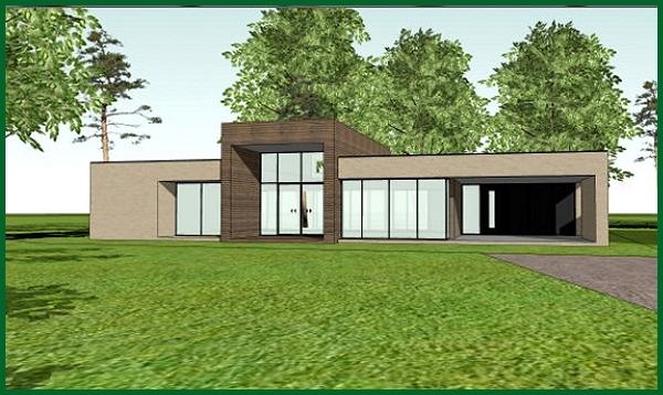 Prefab bungalow bouwen aanbouw huis voorbeelden for Goedkope prefab woningen