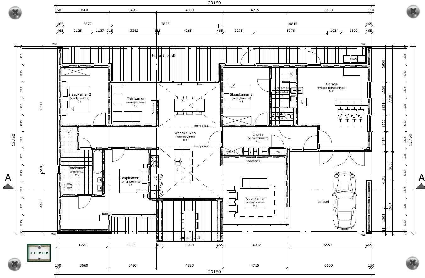 Detail tekening siphome huis - Ingang van een huis ...